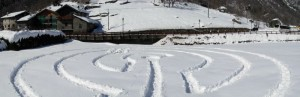 Il piccolo labirinto di Antey – Foto di Gian Mario Navillod.