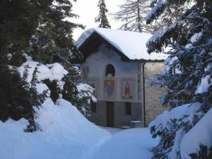 Cappella di Saint Pantaléon (San Pantaleone) a Torgnon – Foto di Gian Mario Navillod.