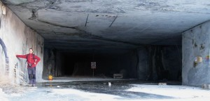 Ingresso cava di marmo a monte del Ru Marseiller - Foto di Gian Mario Navillod.