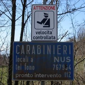 Carabinieri Nus - Foto di Gian Mario Navillod.