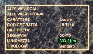 Alcuni cartografi misurano la lunghezza dei sentieri con la precisione del centimetro - Foto di Gian Mario Navillod.