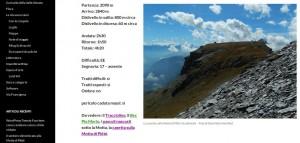 Esempio di pagina del tema Twenty Fourteen di WordPress che colora di viola i link che sono già stati visitati.