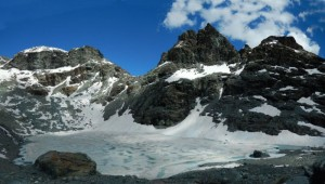 Disgelo al Gran Lago di Céré/Tzéré - Foto di Gian Mario Navillod.