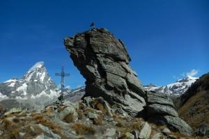 Bec Pio Merlo, Monte Cervino e Breithorn - Foto di Gian Mario Navillod.