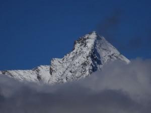 La Grivola vista dal vallone del Grauson - Foto di Gian Mario Navillod.