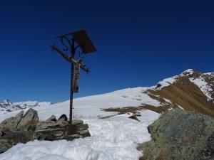 Croce di Armesson sul sentiero per il Monte Zerbion - Foto di Gian Mario Navillod.