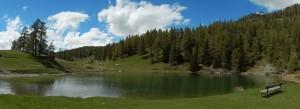Lago di Croux a La Magdeleine – Foto di Gian Mario Navillod.