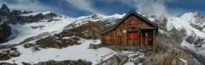 I ghiacciai e il Rifugio Mezzalama - ottobre 2014 - Foto di Gian Mario Navillod.