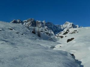 Dent d'Hérens vista dal Tour di Mande di Valtournenche - Foto di Gian Mario Navillod.