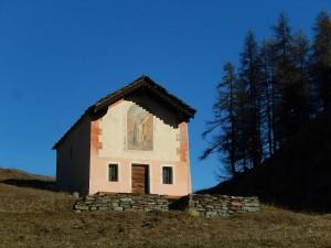 Cappella di Châtelard a Torgnon - Foto di Gian Mario Navillod.