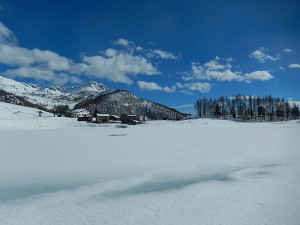 Lago di Lod a Chamois - Foto di Gian Mario Navillod.