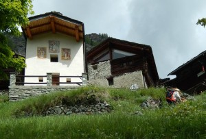 Villaggio di Mont Mené a Valtournenche - Foto di Gian Mario Navillod.
