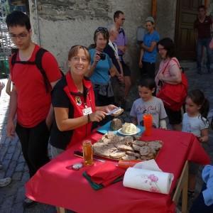 La merenda del sabato del villaggio a Valsavarenche - Foto di Gian Mario Navillod.
