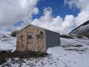 Bivacco Glarey Muggia e prima nevicata del 2015/16 - Foto di Gian Mario Navillod.