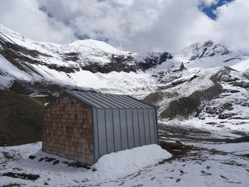 Bivacco Glarey Muggia e Punta Tersiva - Foto di Gian Mario Navillod.