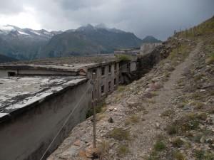 Complesso minerario di Colonna visto da monte - Foto 2012 di Gian Mario Navillod.