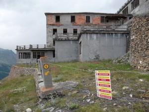 Complesso minerario di Colonna visto da valle - Foto 2012 di Gian Mario Navillod.