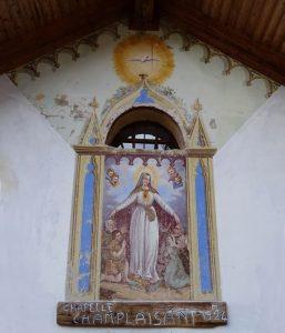 La Madonna di Champlaisant - Foto di Gian Mario Navillod.