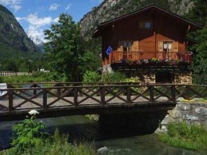 Il ponte del Filey - Foto di Gian Mario Navillod.