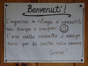Benvenuti al Rifugio Barmasse di Cignana - Foto di Gian Mario Navillod.