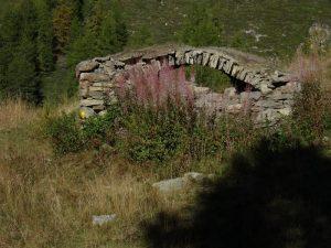 Crotte dell'Alpe Foresus a Chamois - Foto di Gian Mario Navillod.