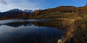 Autunno al lago di Lod di Antey - Foto di Gian Mario Navillod.