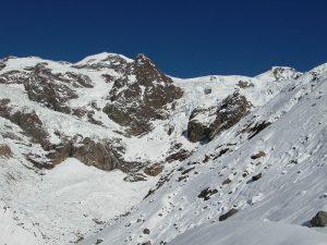 Il ghiacciaio del Lys nel 2010 - Foto di Gian Mario Navillod.