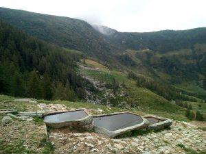 Abbeveratoio dell'Alpe Truc di Lillianes - Foto di Gian Mario Navillod.