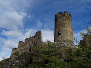 Torre di Châtel-Argent del 1275 (Maître Jacques de Saint-Georges - Master James of Saint George) - foto di Gian Mario Navillod.