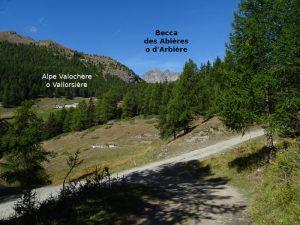 Alpe Vallorsière dal Ru de Joux di Nus - Foto di Gian Mario Navillod.