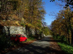Partenza della passeggiata lungo il Ru Châtaigne a Pont-Bozet - Foto di Gian Mario Navillod.