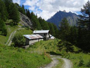 Alpe Praz di Doues lungo il Ru de By - Foto di Gian Mario Navillod.
