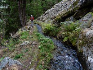 Alpe Le Vacoz e Ru Supérieur di Charvensod - Foto di Gian Mario Navillod.