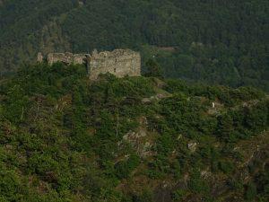 Castello di Villa dal belvedere di Challand Art - Foto di Gian Mario Navillod.