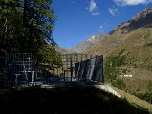 Dissabbiatore del Ru de Tchiou e Alpe Ponteille - Foto di Gian Mario Navillod.