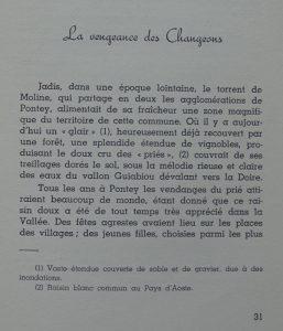 André Ferré, Contes Légendes et Paysages du Val d'Aoste, Imprimerie Valdôtaine, Aoste, 1953, pag. 31