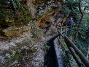 Ru Pompillard all'entrata del vallone Bagnère/Bagnière - Foto di Gian Mario Navillod.