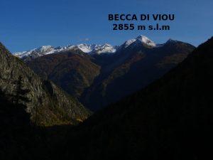 Becca di Viou vista dal Ru du Mont - Foto di Gian Mario Navillod.