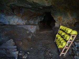 La miniera di Servette lungo il Ru Ruvier di Saint-Marcel - Foto di Gian Mario Navillod.