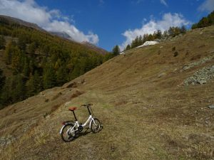 Alpe Ponteille e pista del Ru d'Allein - Foto di Gian Mario Navillod.