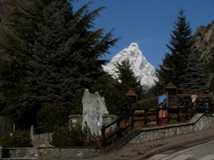 Monte Cervino visto dal Ru de Lies/Liex - Foto di Gian Mario Navillod.