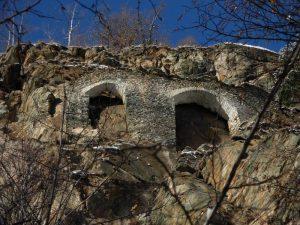 Archi del Ru du Pan Perdu di Antey - foto di Gian Mario Navillod.