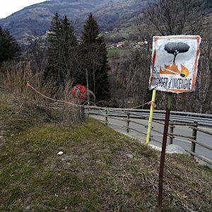 Partenza del Ru Bourgeois 1 - foto di Gian Mario Navillod.