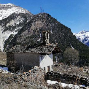 La cappella di San Bernardo a Tarabouc di Cogne - Foto cortesia di Giovanni Venturini.